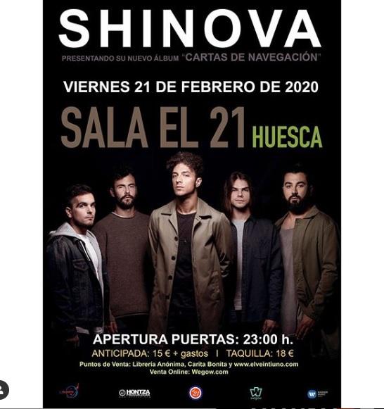 SHINOVA - El album